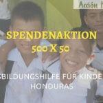 Spendenaktion 500x50