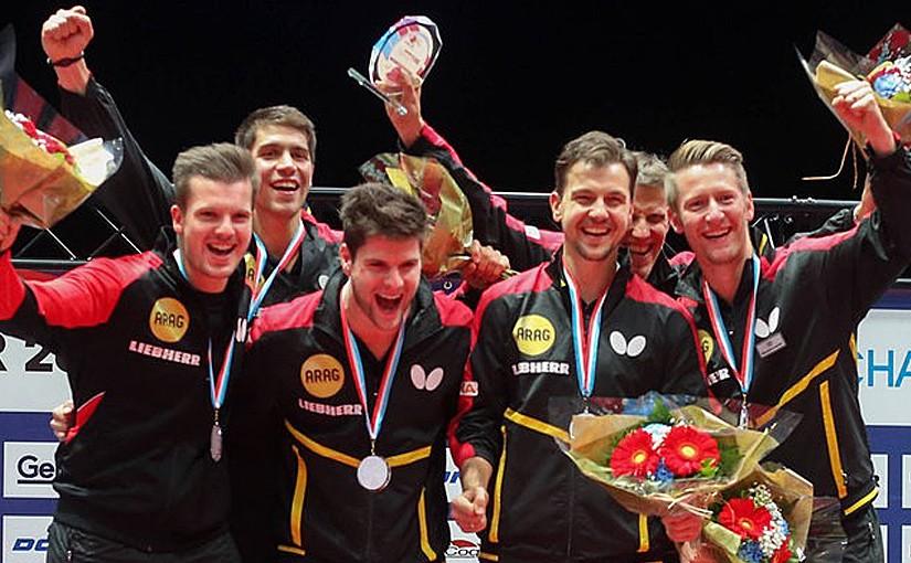 Glückwunsch! Unser Schirmherr Timo Boll wird mit dem Team Tischtennis-Europameister