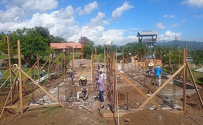 Der Bau des Medizinzentrums schreitet voran