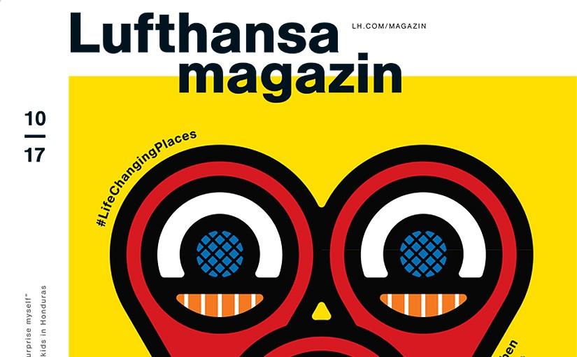 """""""Camp der guten Hoffnung"""" im Lufthansa Magazin"""