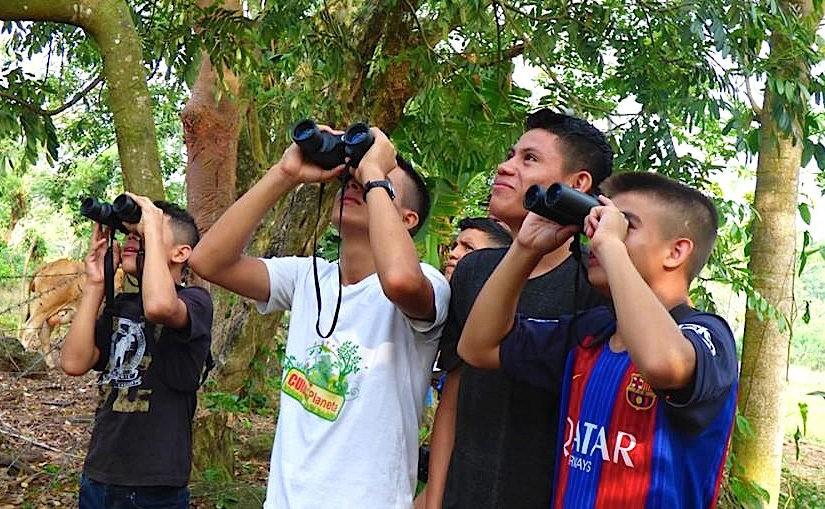 Vogelschutz in Honduras