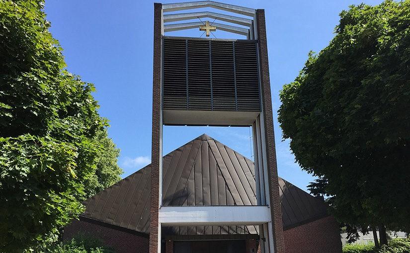 Kirchengemeinde Hamburg Sasel spendet Kollekte