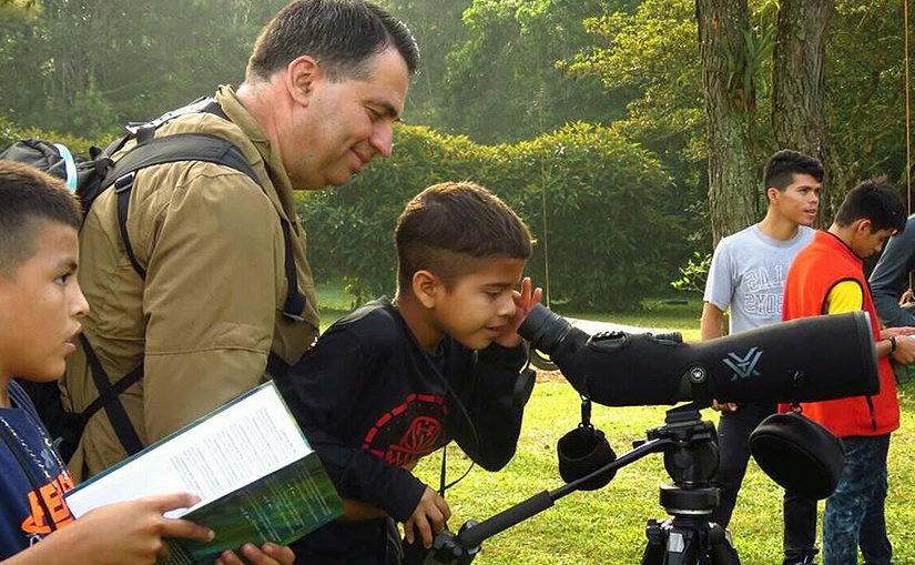 Vogelbeobachtung im Naturschutzgebiet Luna del Puente