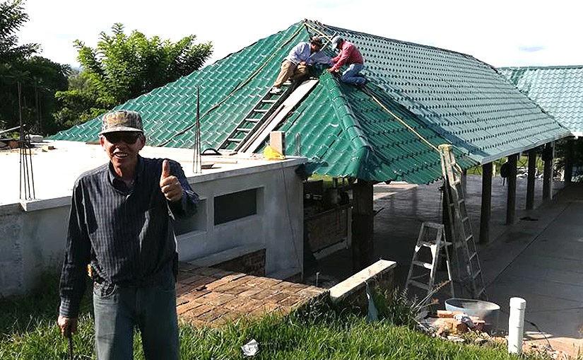 Bauarbeiten für den Eventbereich schreiten voran