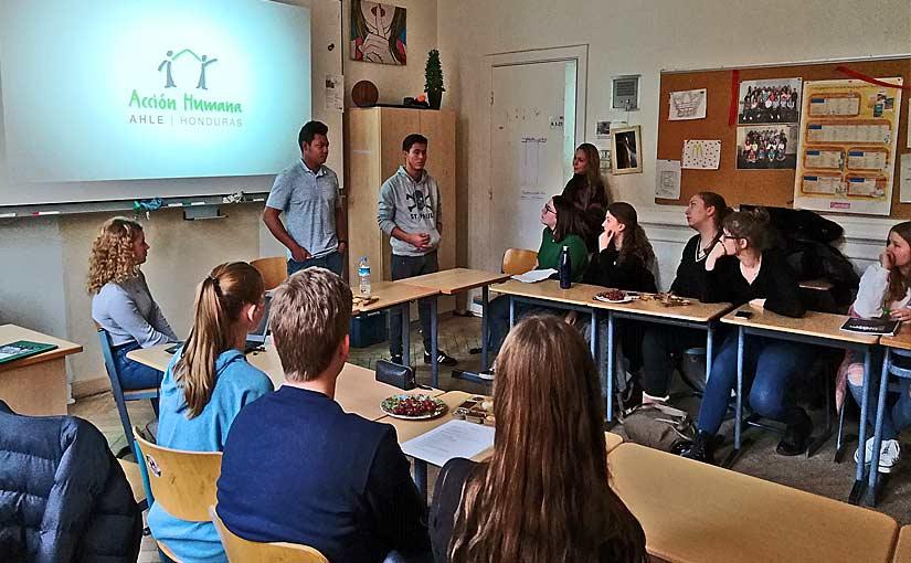 Vortrag an der Brecht-Schule
