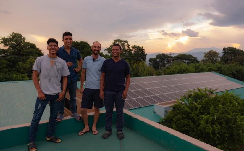 Grünes Licht – der Solarstrom in AHLE läuft