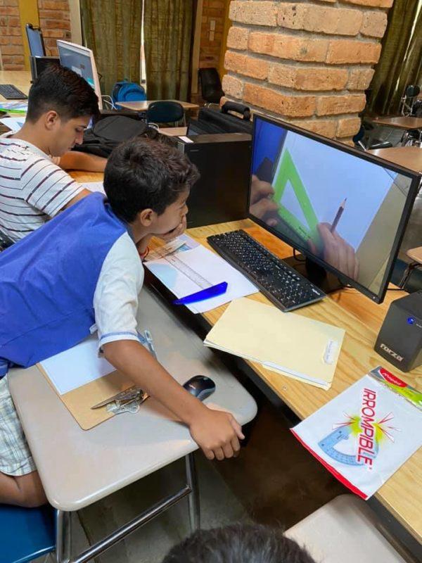Die Virtuelle Schule läuft auch für unsere Kinder in AHLE!