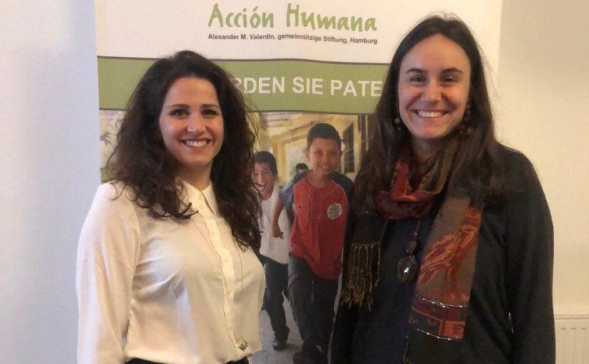 Wechsel in der Koordination bei Acción Humana